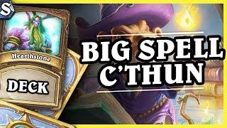 Download BIG SPELL C'THUN DRUID - Hearthstone Deck Std (K&C) Video