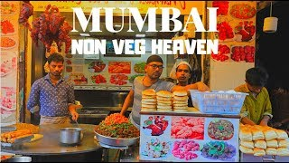 Download AMAZING NON VEG STREET FOOD | MUST TRY AT MUHAMMAD ALI ROAD, MUMBAI Video