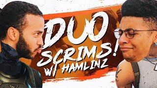 Download PRO BASE BATTLES! DUO SCRIM WITH HAMLINZ (Fortnite BR Full Match) Video