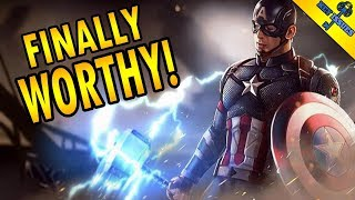Download The Moment Captain America Became Worthy of Mjolnir | Avengers Endgame Video