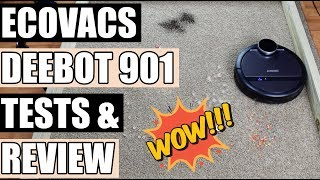 Download ECOVACS DEEBOT 900 / 901 Robotic Vacuum Cleaner TESTS & REVIEW with SmartNavi 3.0 Video