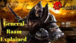 Download Who is General Raam? Gears of War 1 2 3 4 5 Gameplay | Raams Rise, Shadow, Fall and Death and theme Video