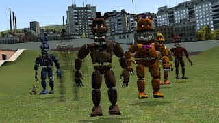 Download CREEPY FIVE NIGHTS AT FREDDY'S 4 NPCS!| Garry's Mod Video
