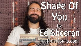 Download Shape Of You - Ed Sheeran - Ukulele Tutorial with tabs Video