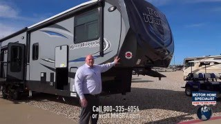 Download Road Warrior 427 Luxury Toy Hauler RV Review at Motor Home Specialist Video