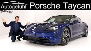 Download all-electric Porsche Taycan Turbo Premiere REVIEW Exterior Interior - Autogefühl Video