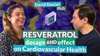 Download Resveratrol: dosage and effect on cardiovascular health | David Sinclair Video