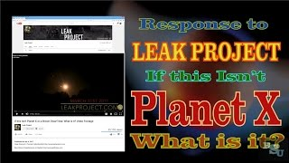 Download Reply to Leak Project If it's not Planet X What is it Video