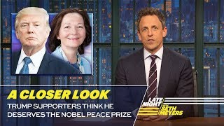 Download Trump Supporters Think He Deserves the Nobel Peace Prize: A Closer Look Video