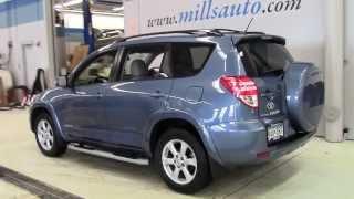 Download 2009 Toyota RAV4 4WD V6 AT Limited 3J140020A Video