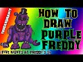 Download How To Draw Purple Freddy from Five Nights At Freddy's 3 ✎ YouCanDrawIt ツ 1080p HD FNAF Video