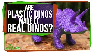 Download Are Plastic Dinosaurs Made from Real Dinosaurs?! Video