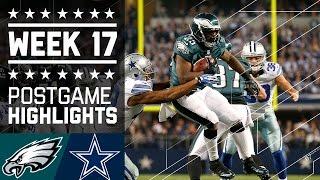 Download Eagles vs. Cowboys (Week 17, 2013)   Game Highlights   Battle for NFC East   NFL Video