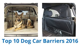 Download 10 Best Dog Car Barriers 2016 Video