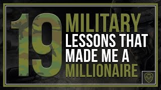 Download 19 Military Lessons that Made Me a Millionaire Video