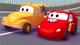 Download Tom The Tow Truck and the Racing Car in Car City |Trucks cartoon for children 🏎️🚚 Video
