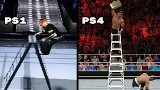 Download The Evolution Of The Ladder Match In WWE Games (2000-2016) Video