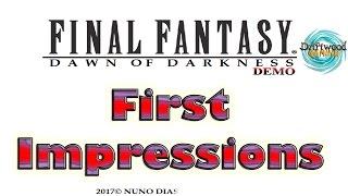 Download Final Fantasy Dawn of Darkness - First Impressions - Fan Game - RPG Maker MV Video