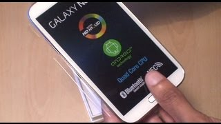 Download Samsung Galaxy Note 2 Unboxing / Setup / First Look Video