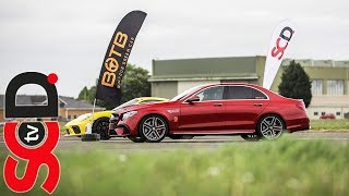 Download E63s AMG vs Supercars // BOTB Drag Race Video