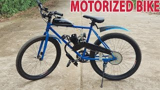 Download Build a Motorized Bike at home - Tutorial Video