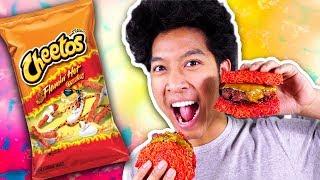 Download Hot Cheetos Ramen Burger!!! Video