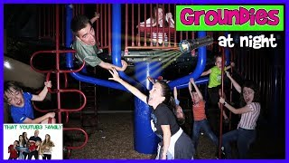 Download Groundies At Night - Playground Wars / That YouTub3 Family Video