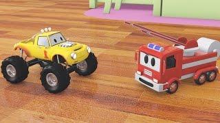 Download Construye un camión de bomberos con Lucas el Camioncito | Dibujos animados para niños Video