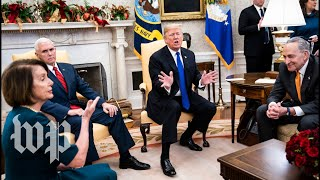 Download Watch the full, on-camera shouting match between Trump, Pelosi and Schumer Video