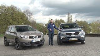 Download Nissan Qashqai kontra Kia Sportage - który używany SUV będzie lepszym wyborem Video