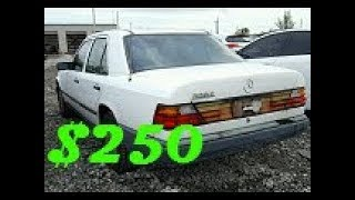 Download I Won A Grey Market Mercedes W124 At Copart For $250 Video