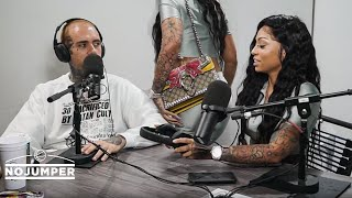 Download Cuban Doll walks out on her No Jumper interview Video