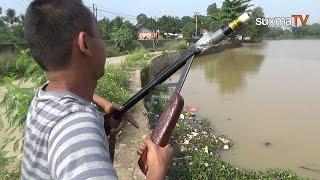 Download CANGGIH !!! MANCING IKAN PAKAI SENAPAN ANGIN DI DANAU WANAHERANG GUNUNG PUTRI BOGOR Video