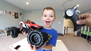 Download Father & Son GET CRAZY RC MONSTER TRUCK! Video