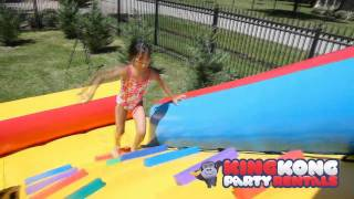 Download 13ft Water Slide with Pool - Kid Friendly Discounted Water Fun Video