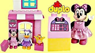 Download Lego DUPLO Minnie Mouse & Daisy Duck Bow-tique Building Set Video
