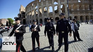 Download Rome and Milan jointly patrolled by Italian, Chinese police Video