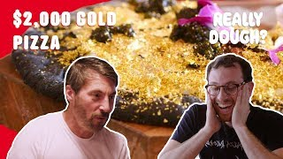 Download $2,000 Gold Pizza: Worth the Money? || Really Dough? Video