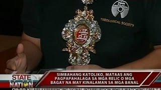 Download SONA: Apat na first class relics, ninakaw sa Holy Family Parish Video