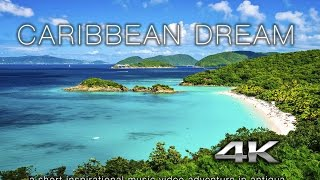 Download 4K VIRTUAL VACATION: Caribbean Dream - Antigua DJI OSMO X3 Nature Relaxation™ Music Video Video