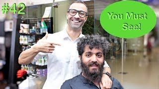 Download Crazy Haircut Transformation ✔︎ Beard & Men's Hairstyle (Barber Tutorial 2018) USA/Dubai Video