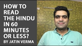 Download How to Read The Hindu in 60 minutes or less? Video
