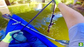 Download MAGNET FISHING WITH A 500 LB PULL MAGNET FROM A KAYAK!!! Video