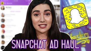 Download I Bought The First 5 Things Snapchat Recommended To Me Video