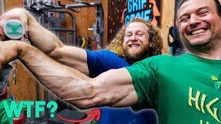 Download PRO ARM WRESTLER = GRIP STRENGTH PRO? Video