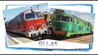 Download The Last Polish SU45 Diesel Locomotives - and many Freight Trains at Rzepin! Video