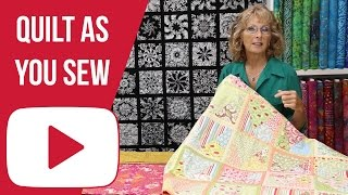 Download Quilt As You Sew (Overview NOT A HOW-TO) Video