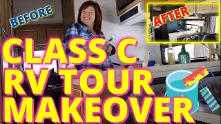Download How To Remodel a 1993 Class C RV with a little paint (tour) Video