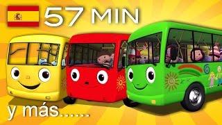 Download Las ruedas del autobús | Y muchas más canciones infantiles | ¡57 min de LittleBabyBum! Video