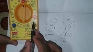 Download Introduction of Digital Multimeter, Easy to Understand ( In Hindi ) Video